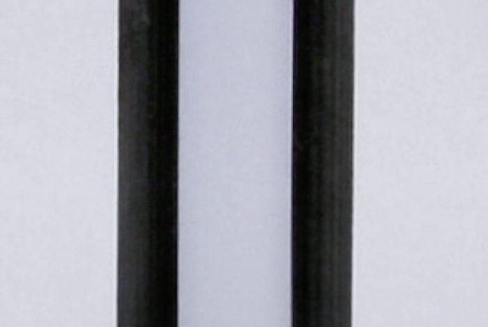 HPL-Front Schwarzkante gefräst (Flächenansicht)