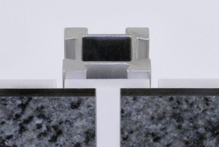 Naturstein-Front (Horizontalschnitt)