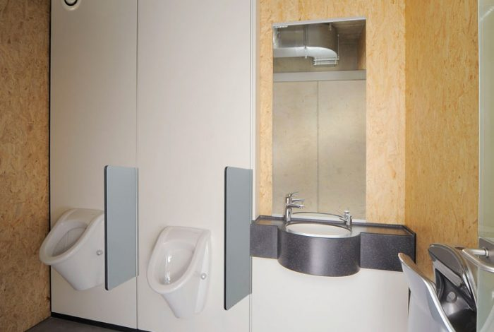 WC Urinal-Anlagen
