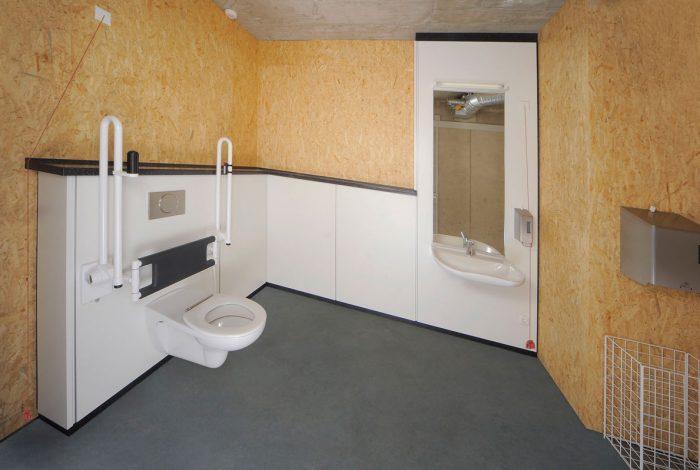 Behinderten WC Anlage