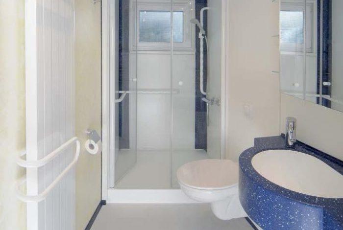 Minibad mit Vollausstattung