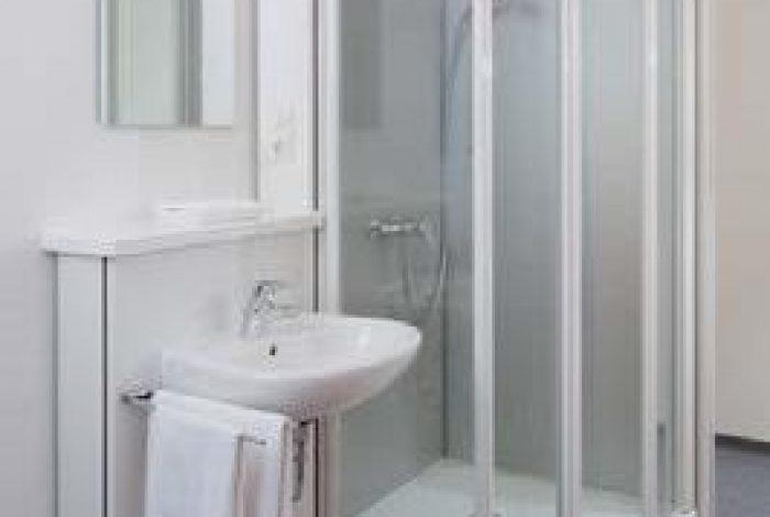 Bad innerhalb des Einzelzimmers