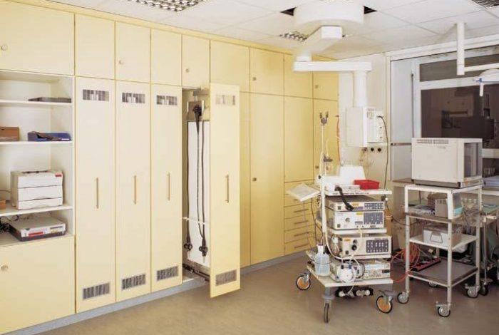 HUG-Krankenhaus Böblingen, Endoskopie- Untersuchungsraum